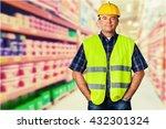 construction worker. | Shutterstock . vector #432301324