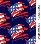 hand drawn independence day of... | Shutterstock .eps vector #432303358