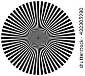 burst  beams  rays | Shutterstock .eps vector #432305980