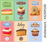 traditional bakery... | Shutterstock .eps vector #432309100