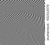 wavy  zigzag lines  lines with... | Shutterstock .eps vector #432313570