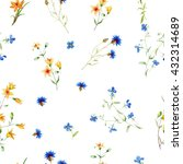Trendy Seamless Floral Ditsy...