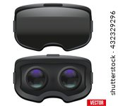 set of original stereoscopic 3d ... | Shutterstock .eps vector #432329296