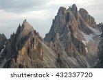 high mountain cliffs in the... | Shutterstock . vector #432337720