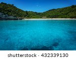 Stock photo antipaxos island ionian sea greece 432339130