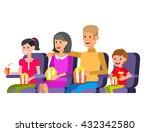 family movie poster or banner... | Shutterstock .eps vector #432342580
