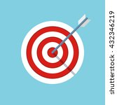 target or objective icon.... | Shutterstock .eps vector #432346219