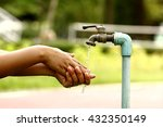 wash hands | Shutterstock . vector #432350149