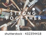 together community team support ... | Shutterstock . vector #432354418