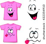printed pink t shirt   funny...   Shutterstock .eps vector #432354910