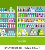 concept illustration for shop ... | Shutterstock .eps vector #432355174