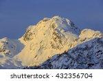 view of mountain viktindan at...   Shutterstock . vector #432356704