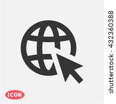 go to web . vector icon 10 eps   Shutterstock .eps vector #432360388