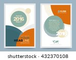 cover design template circle... | Shutterstock .eps vector #432370108