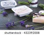 moisturizer cream  soap and... | Shutterstock . vector #432392008