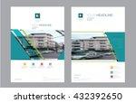corporate brochure flyer design ... | Shutterstock .eps vector #432392650