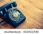 old telephone retro vintage... | Shutterstock . vector #432421540