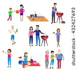 vector character people on... | Shutterstock .eps vector #432427693