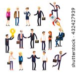 vector detailed characters... | Shutterstock .eps vector #432427939