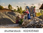 pindaya  myanmar   january 25 ...   Shutterstock . vector #432435460