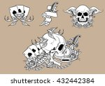 old school element | Shutterstock .eps vector #432442384