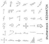 business doodles | Shutterstock .eps vector #432444724
