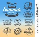 modern retro insignia for... | Shutterstock .eps vector #432446428
