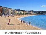 lloret de mar  spain   may 22 ... | Shutterstock . vector #432450658