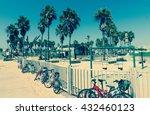 Bikes And Playground At Venice...