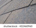 roof shingles   close up | Shutterstock . vector #432460960