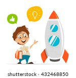 vector character illustration... | Shutterstock .eps vector #432468850