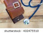 medical tourism concept.... | Shutterstock . vector #432475510