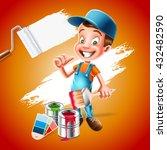 painter | Shutterstock .eps vector #432482590
