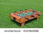 table football on soccer field | Shutterstock . vector #432483088