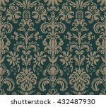 seamless pattern in the style... | Shutterstock .eps vector #432487930