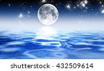 backgrounds night sky with... | Shutterstock . vector #432509614