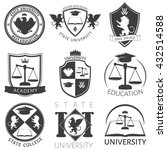 heraldry of university black... | Shutterstock .eps vector #432514588