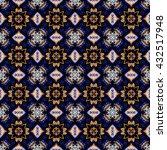 abstract decorative texture  ... | Shutterstock . vector #432517948
