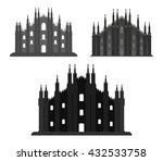 Set Of Milan Cathedral