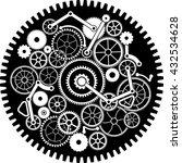 gear mechanism. vector... | Shutterstock .eps vector #432534628