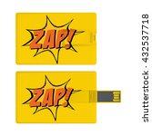 universal serial bus card...   Shutterstock .eps vector #432537718