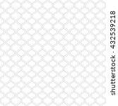 vector ornamental pattern.... | Shutterstock .eps vector #432539218