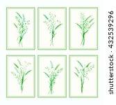 vector design template. meadow... | Shutterstock .eps vector #432539296