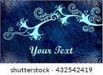 vintage floral elements for... | Shutterstock .eps vector #432542419