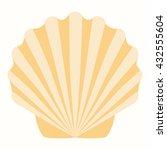 Shells In Pastel Tones Vector...