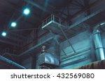 industrial interior details ... | Shutterstock . vector #432569080
