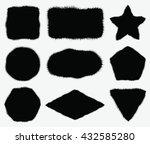 abstract grunge backgrounds set....   Shutterstock .eps vector #432585280