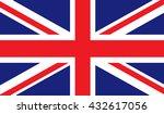 united kingdom flag | Shutterstock . vector #432617056