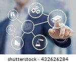 fields of study or academic... | Shutterstock . vector #432626284