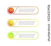 vector web template. layout... | Shutterstock .eps vector #432631906